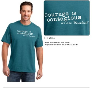 T-Shirts - Courage